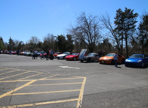 Great               showing of Z cars at our May 2017 NJ Z Car Club meet